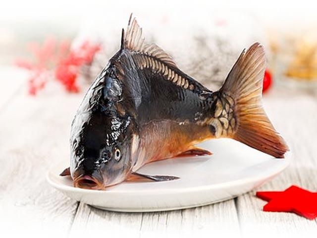 Má-li se upravovat větší ryba v celku pro hostinu, studený předkrm apod